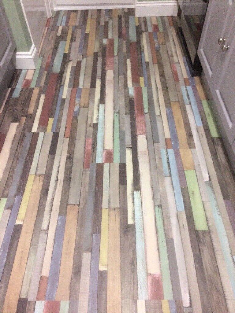 Multi Coloured Laminate Flooring