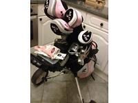 Ladies Ben Sawyer golf clubs & Trolley