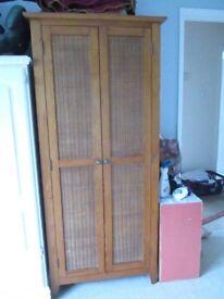 Single Wooden Wardrobe