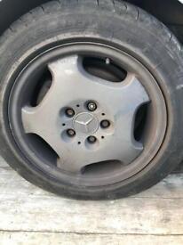 Mercedes alloy wheels x4