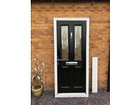 Composite Door. Brand New Black Composite Door. 2100mm 995mm.