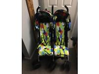 COSATTO To and Fro Duo. 6 months old. Double pushchair buggy