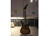 Electric rock guitar £65 cash
