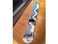 Factory Boarding Swing 144cm Wood Core Snowboard, Made in Austria, Very Good