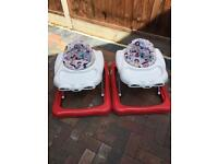 Baby walker x 2 Graco discovery
