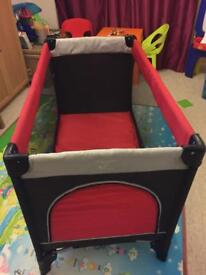 Hauck Travel cot - good used condition