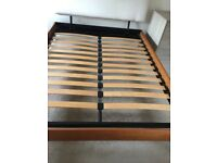 Iron bed company, king size bed frame.
