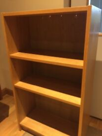 Ikea oak effect bookcase