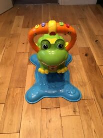 VTech jump and bounce frog