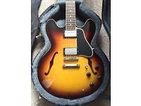 Gibson ES 335 Custom Shop DOT reissue Vintage Sunburst