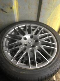 "Porsche Cayenne alloys 20"" also Touareg"