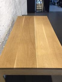 Wooden table for kitchen, dinning room or retail shop