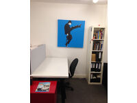 Desk space in creative office - Just off Park Street