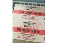 2x Friday tickets goodwood festival of speed