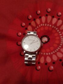 Ladies Silver Marc Jacobs Watch