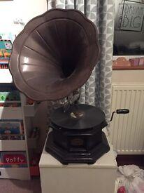 Ornamental gramophone