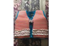 New swim aid/floating jacket