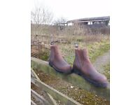HARRY HALL BOOTS. Great boots for horse riding activities. Size 8 Very little wear £25