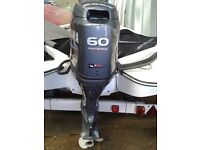 Yamaha Outboard 60 Hp as new