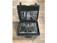 Vestax VCI-300 Serato Itch DJ Controller & Protective carry case.