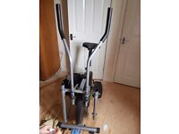 Cross trainer and exercise bike 2 in 1