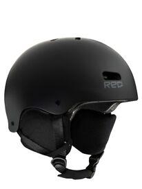 R.E.D. Helmet Trace black gray XL Ski/Skate/Bmx Crossover £89.99 sale £34.99 New.