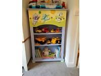 Childrens Nursery Bedroom Storage Toy Storage Bookshelf Bookcase Furniture