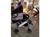 Bebe Confort Loola Up Pushchair with raincover and ext straps