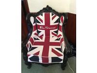 MOD Union Jack Chair by Ben Sherman
