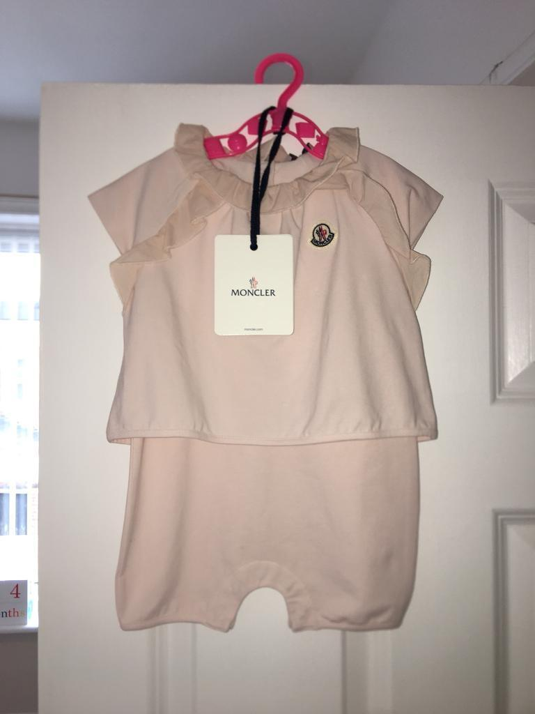 ffcf2688b0f Moncler baby girls play suit BRAND NEW