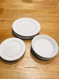 LARGE BUNDLE tableware - vintage/antique/modern REDUCED