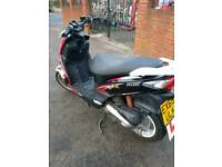 Sym jet 4 r 50cc moped 2stroke 1 owner from new fully running
