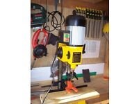 "BENCH MORTICER / BENCH DRILL 1/2"" GOOD CONDITION"