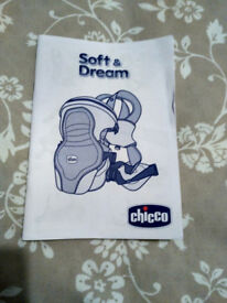 Chicco baby carrier soft ad dream