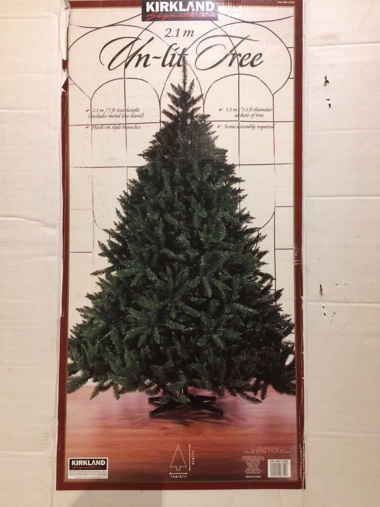 Christmas tree 7ft. Excellent quality tree from Costco | in East ...
