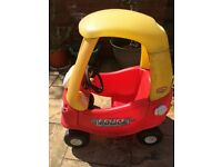 Little Tikes crazy coup red car