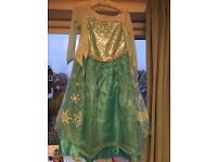 Disney store Elsa dress age 5