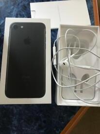 I phone 7 32gb jet black unlocked