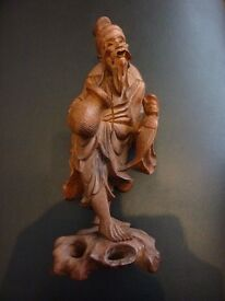 Chinese carved figure.