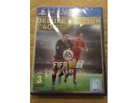 FIFA 16 Deluxe Edition - Sony Playstation PS4 Games 2016 - New and Sealed