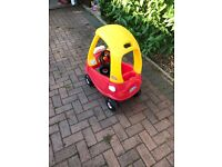 Little Tykes Cosy Coupe Car Children Toy Outdoors - Good condition