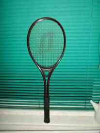 "NO TEXTS PLEASE.""OLYMPIAN"" TENNIS RACQUET L4. (UNUSED) WITH IT'S OWN JACKET. £10."