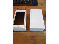 iPhone 6 plus, Gold, 128GB, 18 months old and in unmarked condition