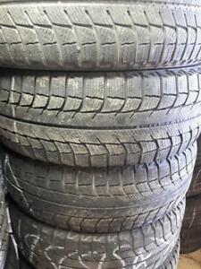 195/65/15 Used winter Michelin tires