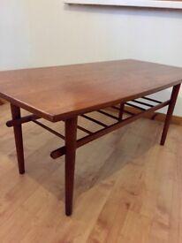 Retro mid century GDR coffee table
