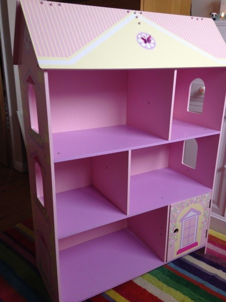 and l bookcase pink wallabove bedroom gold the photos decor on