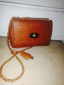 Mulberry Lilly Oak leather bag