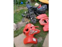 Quad bike complete in bits or as spares
