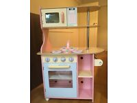 ELC double-sided wooden kitchen in excellent condition