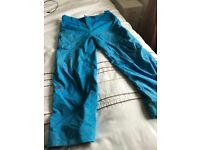 North Face Salopettes Large (Blue)